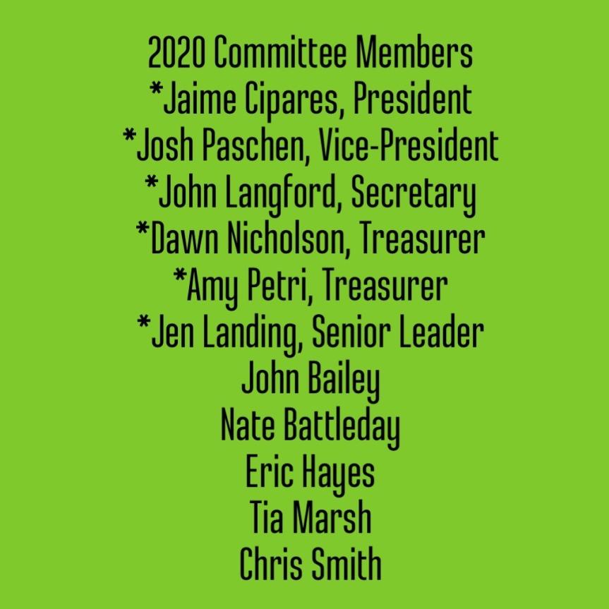 2020 Committee Members