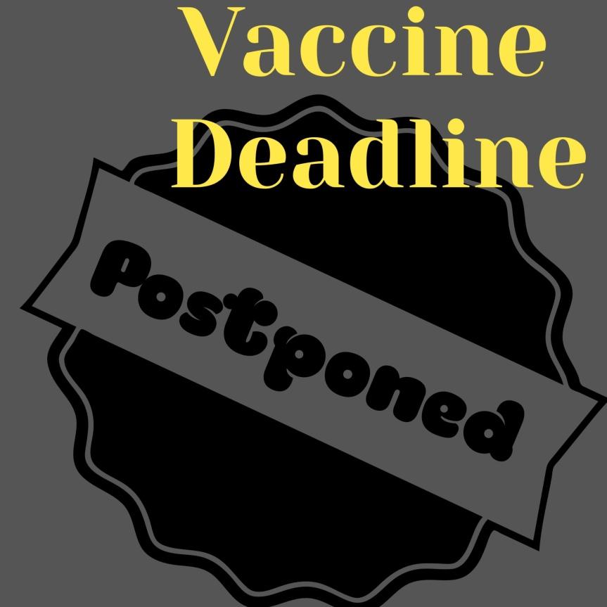 Vaccine Deadline