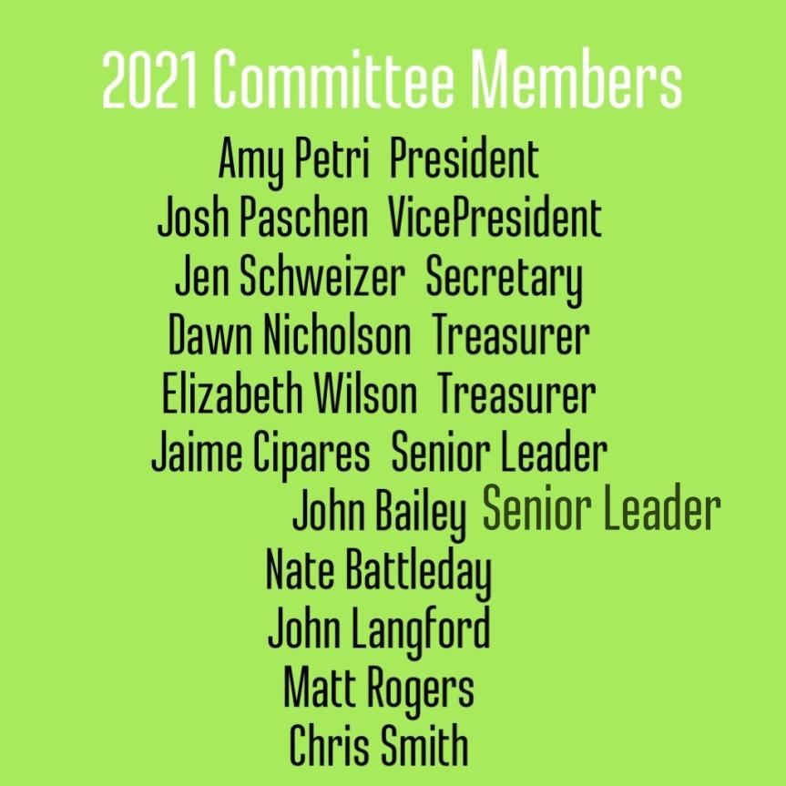 2021 Committee Members