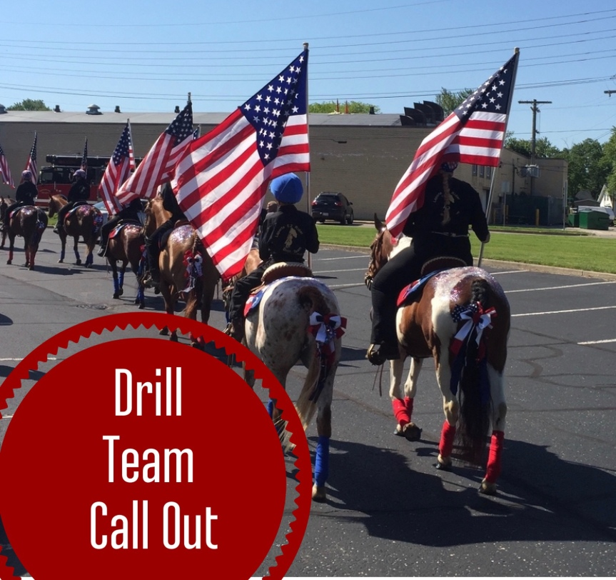 Drill Team Call Out